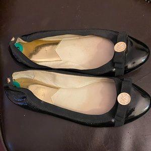 Michael Kors black ballet bow flats size 8